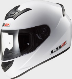 Kask LS2 FF352 ROOKIE SOLID White L