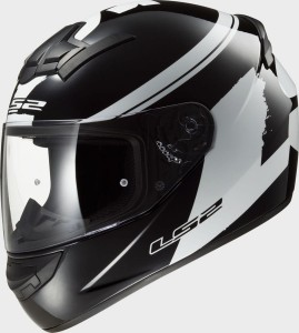 Kask LS2 FF352 ROOKIE FLUO Black White M