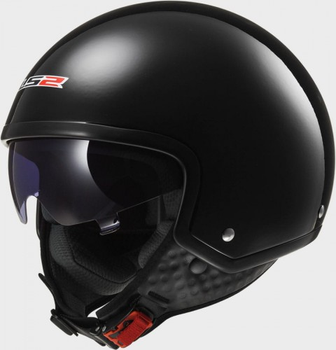 Kask LS2 OF561 WAVE SOLID Gloss Black 1.jpg